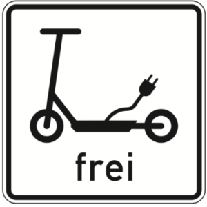 Scooter frei Zone Elektrokleinstfahrzeuge Verordnung